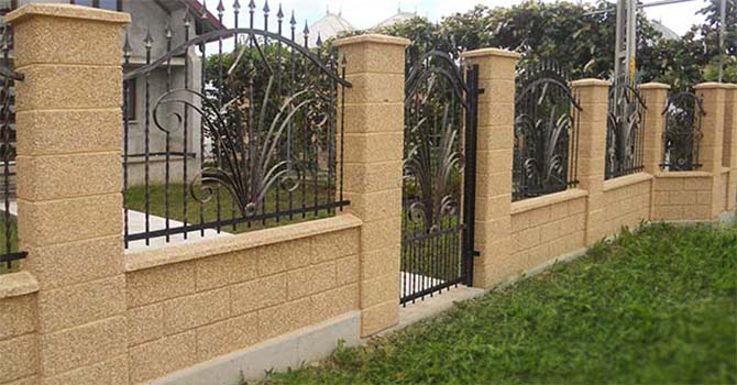 Garduri prefabricate modele garduri din prefabricate for Modele de garduri pentru case